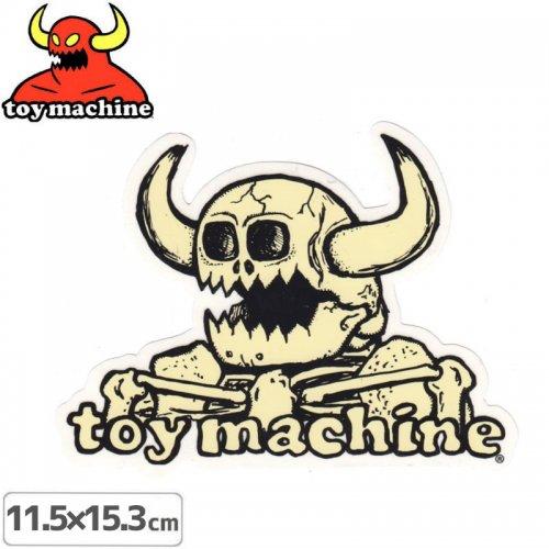 【トイマシーン TOY MACHINE スケボー ステッカー】DEAD MONSTER STICKER 11.5cm x 15.3cm NO38
