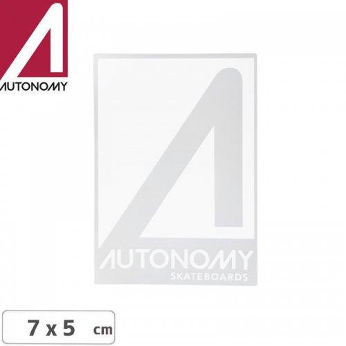 【オートノミー AUTONOMY スケボー ステッカー】AUTONOMY LOGO STICKER 5cm x 7cm NO2