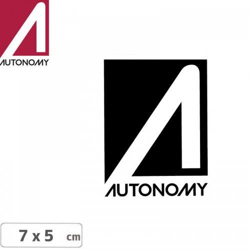 【オートノミー AUTONOMY スケボー ステッカー】AUTONOMY LOGO STICKER 5cm x 7cm NO3