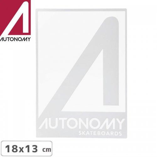 【オートノミー AUTONOMY スケボー ステッカー】AUTONOMY LOGO STICKER 13cm x 18cm NO4