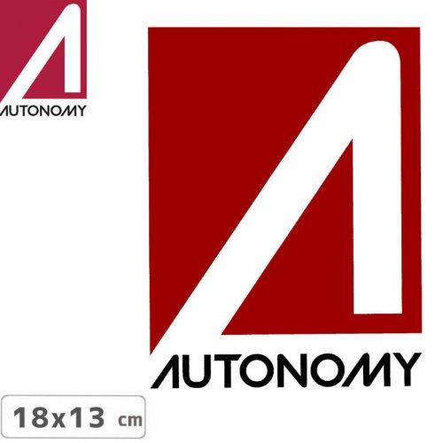【オートノミー AUTONOMY スケボー ステッカー】AUTONOMY LOGO STICKER 13cm x 18cm NO5