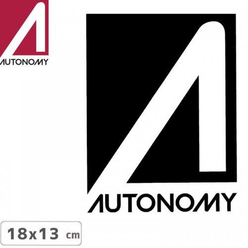 【オートノミー AUTONOMY スケボー ステッカー】AUTONOMY LOGO STICKER 13cm x 18cm NO6
