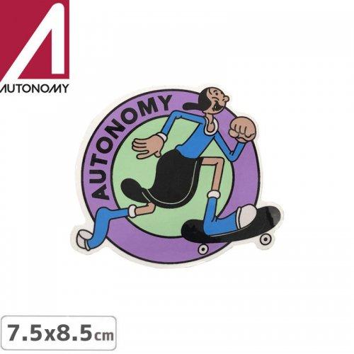 【オートノミー AUTONOMY スケボー ステッカー】AUTONOMY OLIVIA STICKER 7.5〜8.5cm NO7