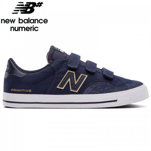 【NEW BALANCE NUMERIC ニューバランス シューズ】NM212VPR SHOES PRIMITIVE コラボ キャンバス【ネイビー×ホワイト】NO37