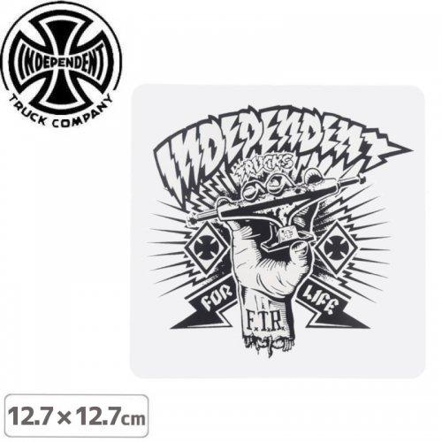 【インディペンデント INDEPENDENT スケボー ステッカー】SHREDDED STICKER【12.7 x 12.7cm】NO116