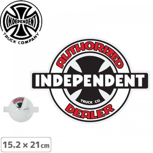 【インディペンデント INDEPENDENT スケボー ステッカー】OG AUTHORIZED STICKER【15.2 x 21cm】NO117