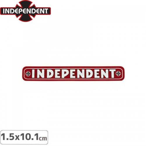 【インディペンデント INDEPENDENT スケボー ステッカー】BAR STICKER【1.5 x 10.1cm】NO120
