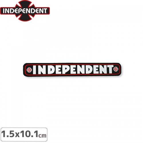 【インディペンデント INDEPENDENT スケボー ステッカー】BAR STICKER【1.5 x 10.1cm】NO121