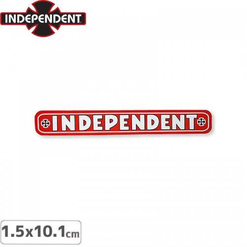 【インディペンデント INDEPENDENT スケボー ステッカー】BAR STICKER【1.5 x 10.1cm】NO122