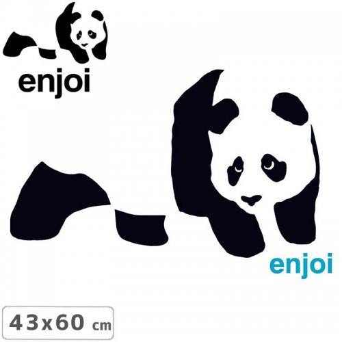 【ENJOI エンジョイ ステッカー】PANDA RAMP STICKER【43cm x 60cm】NO82