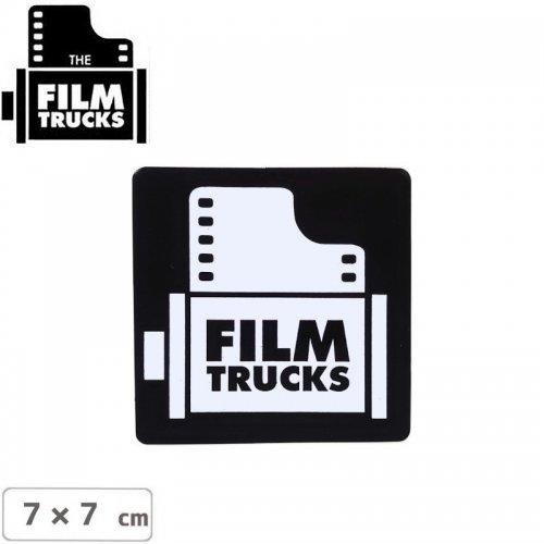 【FILM TRUCKS フィルム スケボー ステッカー】LOGO STICKER 【7cm x 7cm】NO1