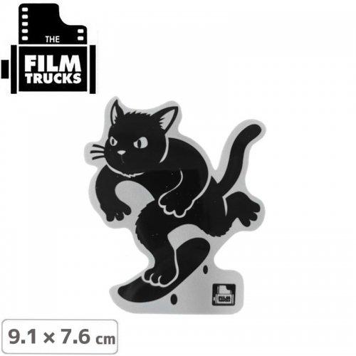 【FILM TRUCKS フィルム スケボー ステッカー】CAT STICKER【9.1cm x 7.6cm】NO2