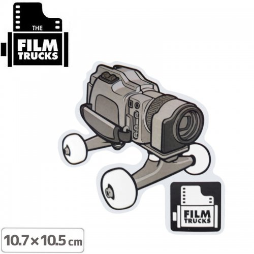 【FILM TRUCKS フィルム スケボー ステッカー】FILM TRUCKS STICKER【10.7cm x 10.5cm】NO3