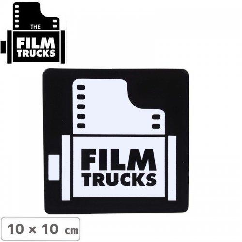 【FILM TRUCKS フィルム スケボー ステッカー】LOGO STICKER 【10cm x 10cm】NO4