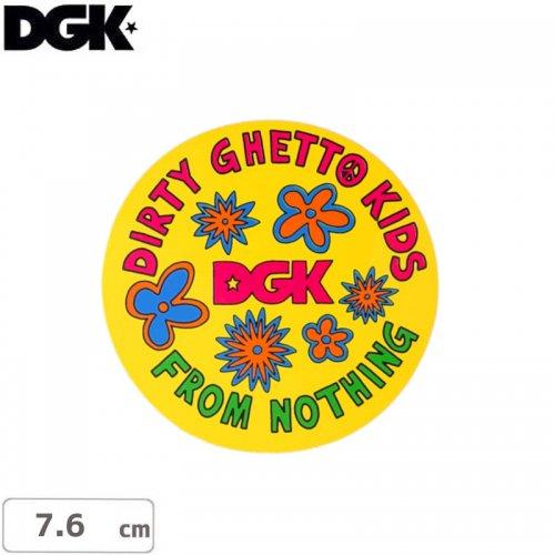 【ディージーケー DGK スケボー ステッカー】DAISY STICKER【7.6cm】NO97