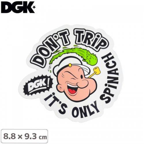 【ディージーケー DGK スケボー ステッカー】POPEYE FOREVER STICKER【8.8cm×9.3cm】NO98