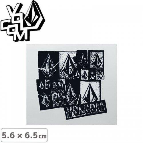 【ボルコム VOLCOM ステッカー】STICKER【5.6cm x 6.5cm】NO370