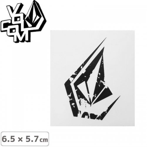【ボルコム VOLCOM ステッカー】STICKER【6.5cm x 5.7cm】NO372