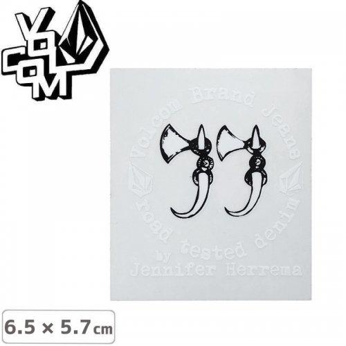 【ボルコム VOLCOM ステッカー】STICKER【6.5cm x 5.7cm】NO374