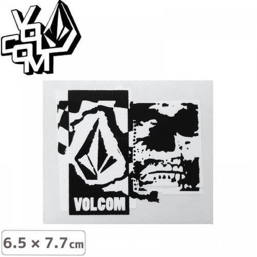 【ボルコム VOLCOM ステッカー】STICKER【6.5cm x 7.7cm】NO376