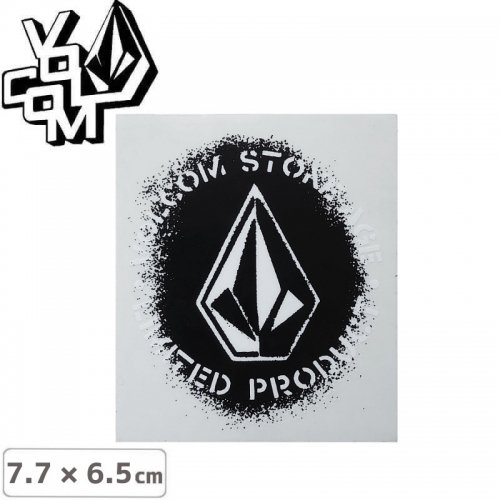 【ボルコム VOLCOM ステッカー】STICKER【7.7cm x 6.5cm】NO377