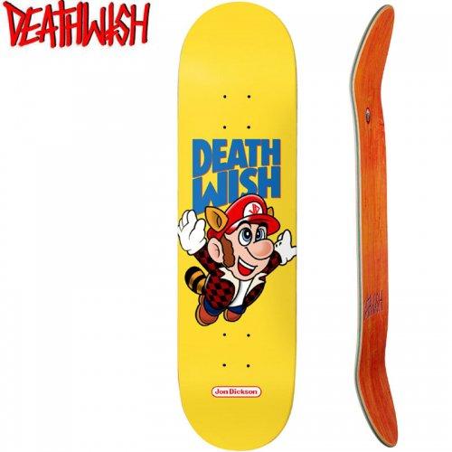 【デスウィッシュ DEATH WISH スケボー デッキ】DICKSON BROS DECK[8.0インチ]NO115