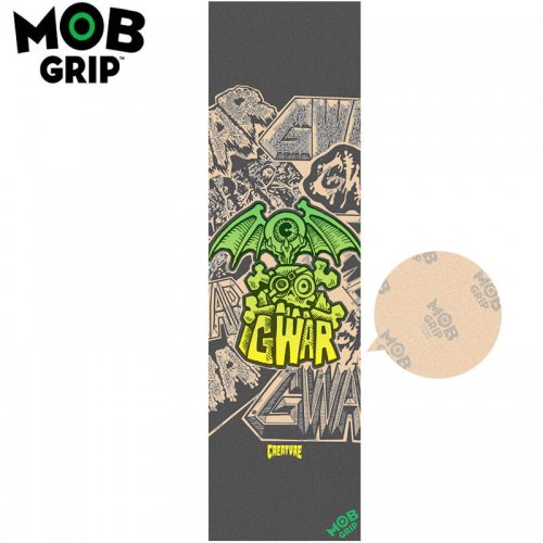 【モブグリップ MOB GRIP デッキテープ】CREATURE GWAR CLEAR GRIP TAPE 9X33 NO189