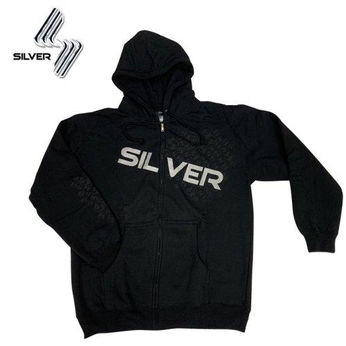 【シルバートラック SILVER TRUCKS スケボー  パーカー】TREATMENT ZIP HOOD【ブラック】NO2