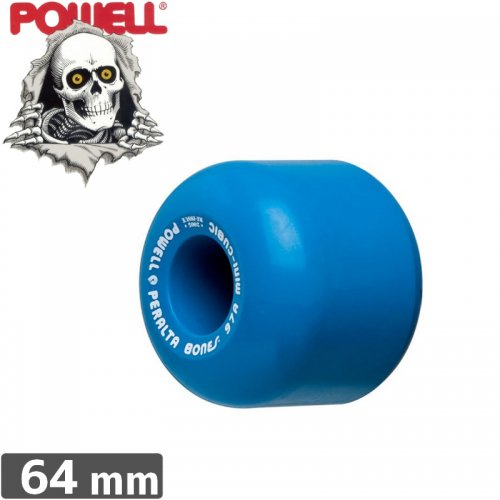 【パウエル POWELL ウィール】POWELL MINI CUBICS 95A WHEELS【64mm】 NO6