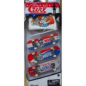 TECH DECK 3 Pack GIRL ガールスケートボード テックデッキ 3