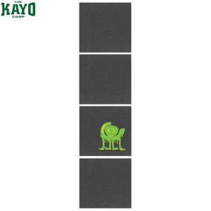 【オーガニカ ORGANIKA デッキテープ】Squares Grip Tape【4シートタイプ】【ブラック】NO01