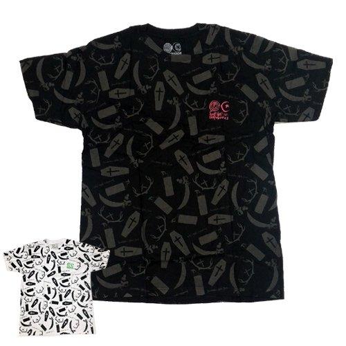 【ファンデーション FOUNDATION スケボー Tシャツ】AFTERDARD SF アフターダッド スリムフィット NO13