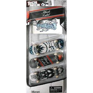 TECH DECK 3 Pack BLACK LABEL ブラックレーベル テックデッキ 5