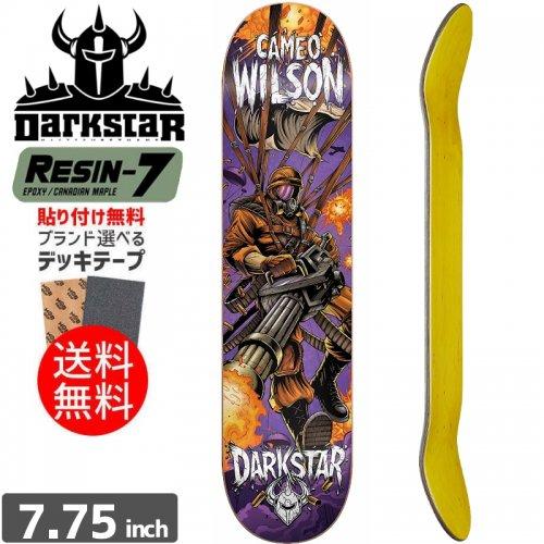 【ダークスター DARK STAR デッキ】WILSON BLAST SL PURPLE DECK[7.75インチ]NO35
