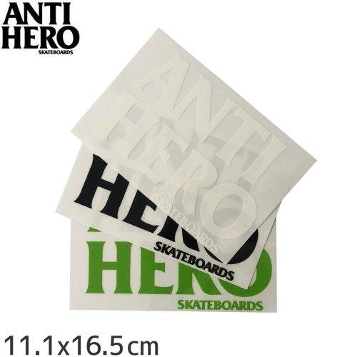 【アンタイヒーロー ANTIHERO スケボー ステッカー】BLACK HERO【3色】【10.5cm x 15.6cm】NO3