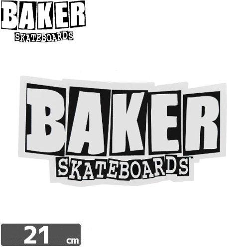 【ベーカー BAKER SKATEBOARD スケボー ステッカー】LOGO【11.5cm×21cm】NO06