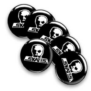 【スカルスケーツ SKULL SKATES ピンバッヂ】SKULL SKATES LOGO PINS【6個セット】NO1