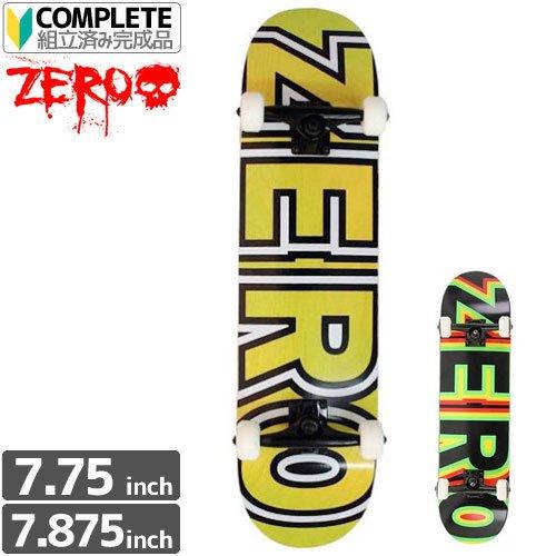 【ゼロ ZERO スケートボード コンプリート】BOLD COMPLETE[7.75インチ][7.875インチ]NO2