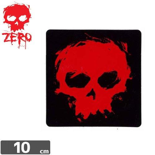 【ゼロ ZERO スケボー ステッカー】BLOOD SKULL M【10cm x 10cm】NO1