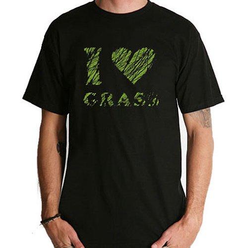 【アイパス I-PATH スケボー Tシャツ】Heart Grass【ブラック】NO17