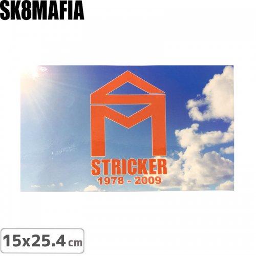 【スケートマフィア SK8MAFIA ステッカー】MAFIA SKATEBOARD【25.5cm x 15.3cm】NO7