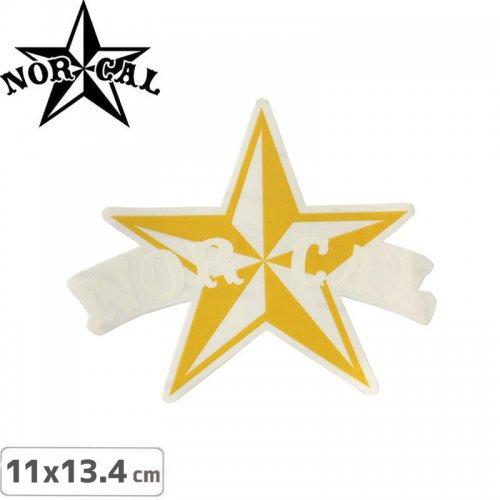 【ノーカル NOR CAL スケボー ステッカー】NAUTICAL 2【11cm x 13.4cm】NO01