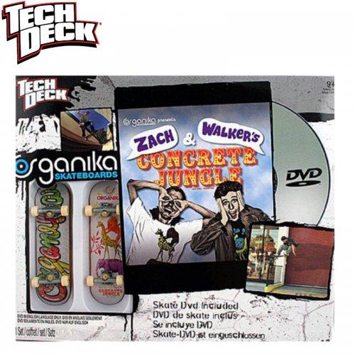 【テックデッキ Tech Deck 指スケ】Sk8 Shop DVD【オーガニカ Organika】NO01