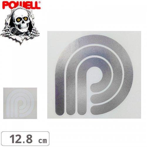【パウエル POWELL スケボー ステッカー】DIE CUT WINDOW【12.8cm x 13.6cm】NO14