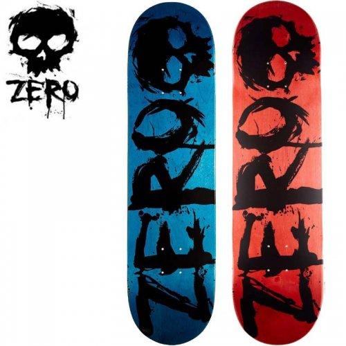 【ゼロ ZERO スケボー デッキ】BLOOD DECK [8.0インチ][8.25インチ]NO53