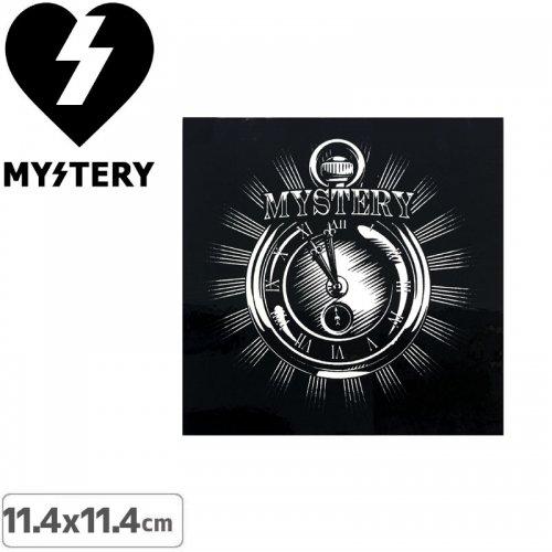 【ミステリー MYSTERY スケボー ステッカー】WATCH【11.4cmx11.4cm】NO20