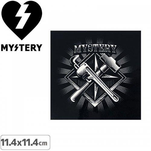 【ミステリー MYSTERY スケボー ステッカー】TOOL【11.4cm ×11.4cm】NO22
