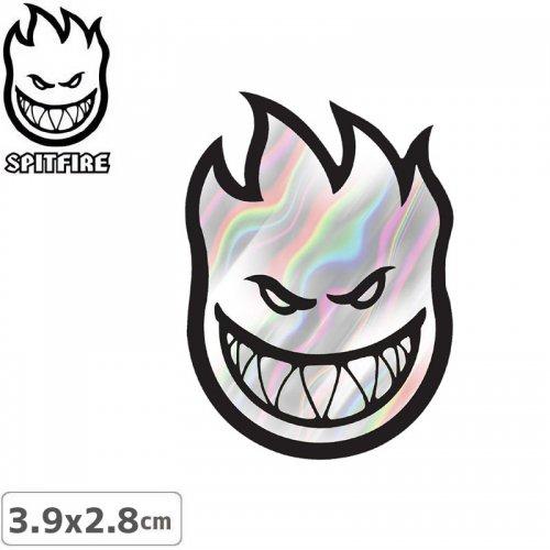 【スピットファイア SPITFIRE スケボー ステッカー】FIREBALL MINI【3.9cm x 2.8cm】NO31