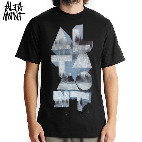 【オルタモント ALTAMONT スケボー Tシャツ】ALTAMONT SHAPED TEE【ブラック】NO15