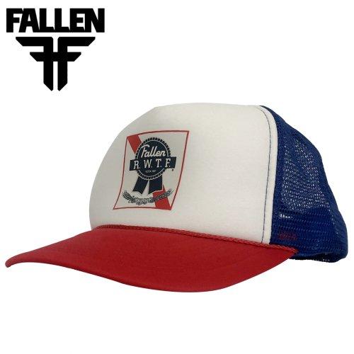【フォールン FALLEN スケボー キャップ】RIBBON TRUCKER HAT NO.11